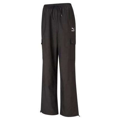 プーマ PUMA CLASSICS CARGO PANTS (BLACK)