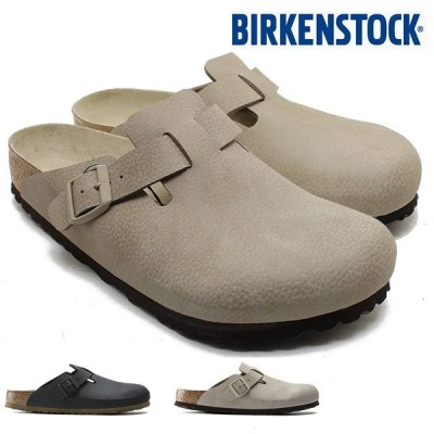 BIRKENSTOCK BOSTON BF Desert Soil ボストン デザートソイル トープ/ブラック 1017431/1017433 レギュラーワイズ/メンズ