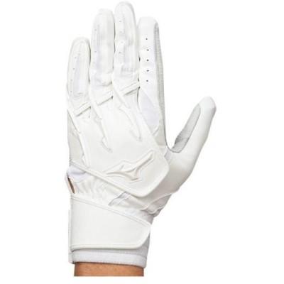 ミズノ  ミズノ 【ミズノプロ】シリコンパワーアークI+(右手:左打者用)【片手用】 ホワイト(2eg11710)  スポーツ用品 取り寄せ