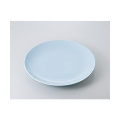萬古焼盛込皿 和食器 / 青地12.0皿 寸法:36 x 3.5cm