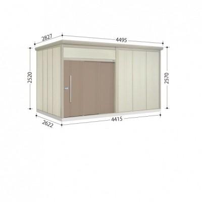 物置 屋外 おしゃれ タクボ物置 JN/トールマン JN-4426 一般型 標準屋根 カーボンブラウン