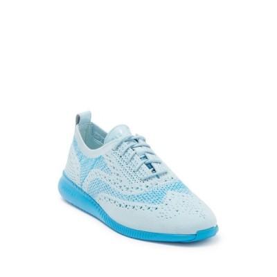 コールハーン レディース スニーカー シューズ Zerogrand Stitchlite Knit Sneaker CYSTL BLE/