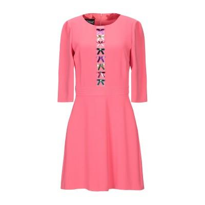 BOUTIQUE MOSCHINO ミニワンピース&ドレス コーラル 46 トリアセテート 70% / ポリエステル 30% ミニワンピース&ドレス