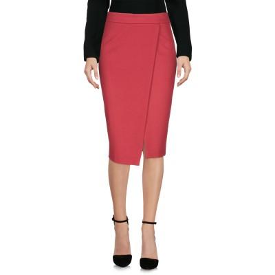レ コパン LES COPAINS ひざ丈スカート レンガ 40 65% レーヨン 29% ナイロン 6% ポリウレタン ひざ丈スカート