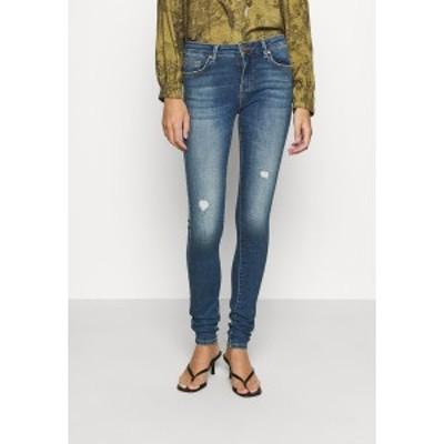 オンリー レディース デニムパンツ ボトムス ONLCARMEN LIFE  - Jeans Skinny Fit - medium blue denim medium blue denim