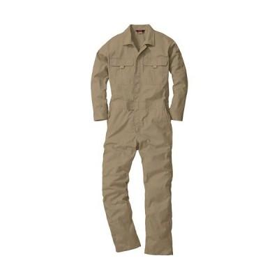 桑和(SOWA) 続服 87/ライトブラウン S〜LLサイズ 9300 作業着 作業服 ワークウェア ウエア つなぎ メンズ レディース