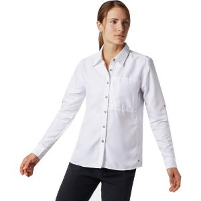 マウンテンハードウェア レディース カットソー トップス Canyon Long-Sleeve Shirt - Women's White