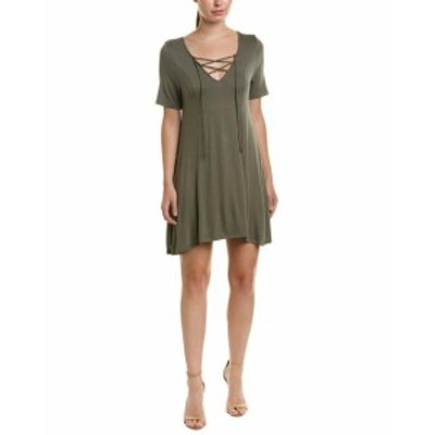 BCBGeneration BCBG ジェネレーション ファッション ドレス Bcbgeneration Lace-Up T-Shirt Dress