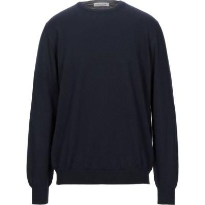 ラ フィレリア LA FILERIA メンズ ニット・セーター トップス sweater Dark blue