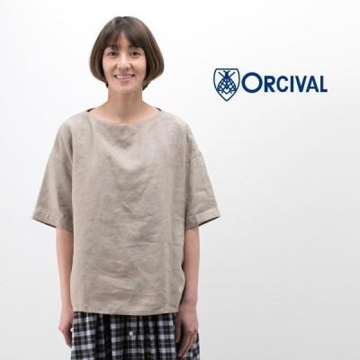 ORCIVAL オーシバル レディース LINEN CLOTH プルオーバーシャツ(RC-3708YLM)(BASIC)