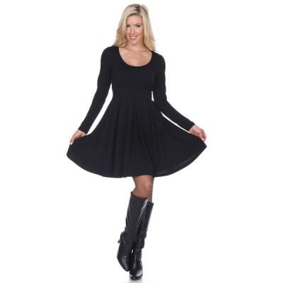 ホワイトマーク ワンピース トップス レディース Women's Jenara Dress Black