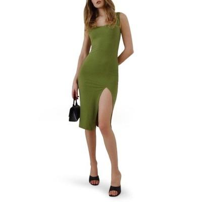 リフォメーション ワンピース トップス レディース Cassi Sheath Dress Avocado