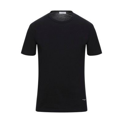 パオロ ペコラ PAOLO PECORA T シャツ ブラック S コットン 100% T シャツ