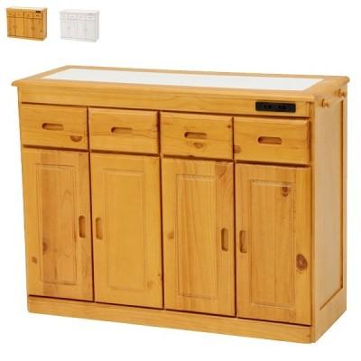 キッチンカウンター【MUD-6522NA/WS】キッチンカウンター カウンターテーブル 食器棚