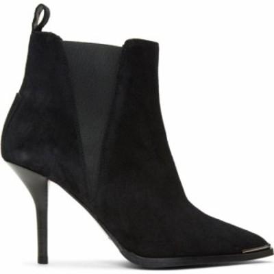 アクネ ストゥディオズ Acne Studios レディース ブーツ シューズ・靴 Black Suede Jemma Stiletto Boots