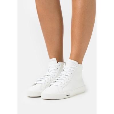 ディーゼル スニーカー レディース シューズ S-MYDORI MC W - High-top trainers - white