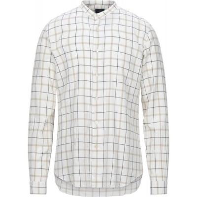 アレッサンドロ ゲラルディ ALESSANDRO GHERARDI メンズ シャツ トップス checked shirt White