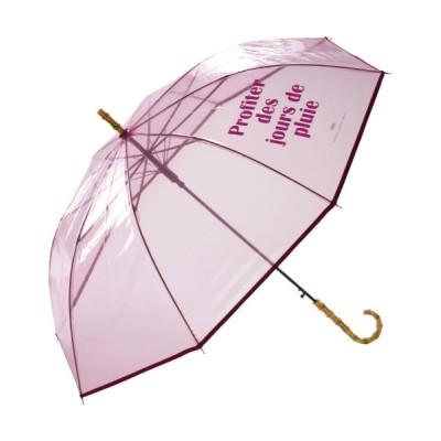 ムラサキスポーツ / Wpc./ダブリュピーシー ビニール長傘 フレンチワーズ P89278-01 WOMEN ファッション雑貨 > 長傘