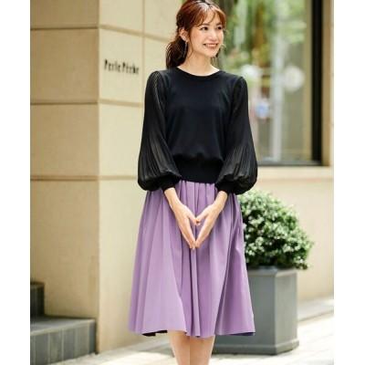 Perle Peche / リバーシブルタフタスカート WOMEN スカート > スカート