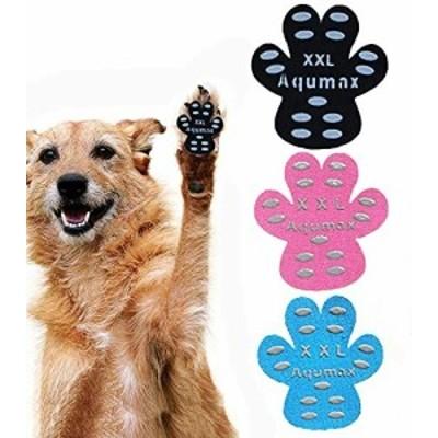 犬 肉球 滑り止め パッド 犬 足 パッド くつ ペット 靴下 滑り止め 肉球 保護 傷防止 すべり 止め フット 犬 用 パッド-硬い木の床から滑