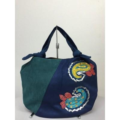 ベトナムバッグ ビーズバッグ スパンコールバッグ 刺繍バッグ ハンドバッグ 手提げ 鞄 ベトナム雑貨 アジアン雑貨