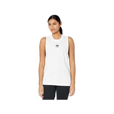 (取寄)アディダス オリジナルス レディース クラシックス タンク トップ adidas Originals Women's Classics Tank Top White
