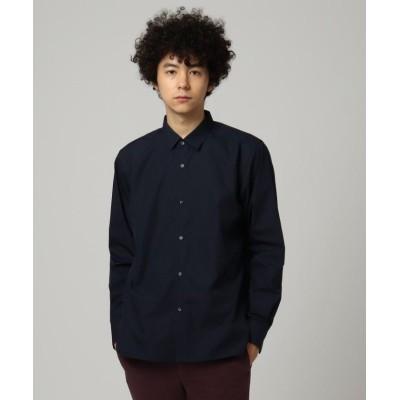 (tk.TAKEO KIKUCHI/ティーケー タケオキクチ)【WEB限定/S~3L】レギュラーカラーシャツ/メンズ ネイビー(093)