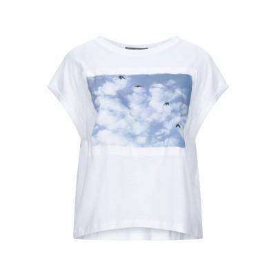 HIGH T シャツ ホワイト S コットン 100% T シャツ