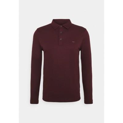 マイケルコース カットソー メンズ トップス SLEEK - Polo shirt - cordovan