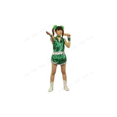 コスプレ 仮装 ハロウィン 大人用 余興 女性用 ガールズレンジャー プリティ(グリーン)