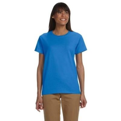 レディース 衣類 トップス Gildan Women's Ultra Cotton Short Sleeve T-Shirt G200L Tシャツ