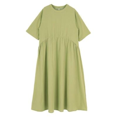 リラックスギャザーワンピース ティティベイト titivate (ワンピース)Dress