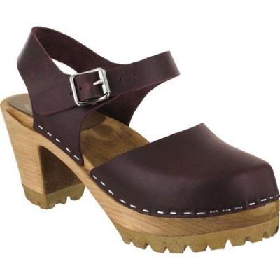 ミア Mia レディース シューズ・靴 アンクルストラップ Abba Ankle Strap Wine Leather