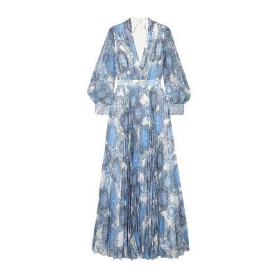 アリス・アンド・オリビア ALICE + OLIVIA ロングワンピース&ドレス アジュールブルー 0 ポリエステル 100% ロングワンピース&ド