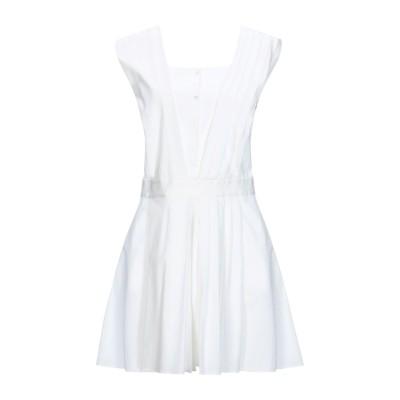 VIKTOR & ROLF ミニワンピース&ドレス ホワイト 40 コットン 72% / ナイロン 23% / ポリウレタン 5% ミニワンピース&