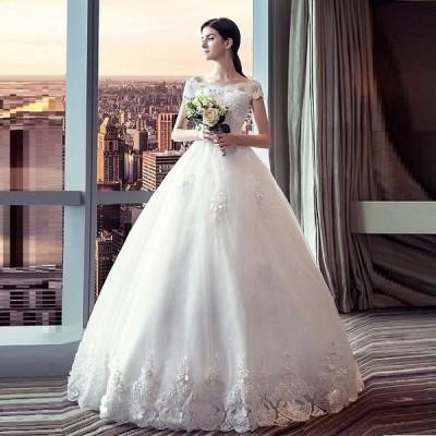ウェディグドレス マタニティドレス 白 花嫁 二次会 ワンピース 大きいサイズ ドレス 結婚式 パーティードレス ロングドレス 安い 白 送料無料