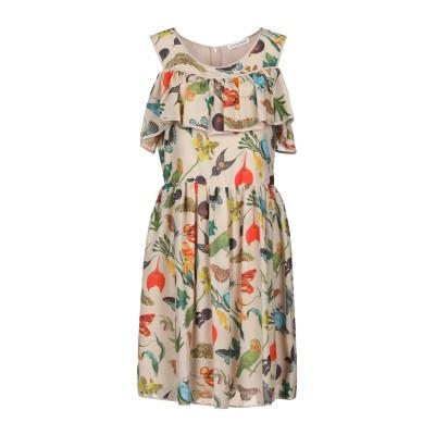 シルビアンヒーチ SILVIAN HEACH ミニワンピース&ドレス サンド XS 100% ポリエステル ミニワンピース&ドレス