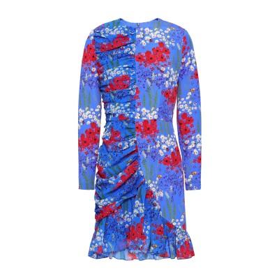 MOTHER OF PEARL ミニワンピース&ドレス パステルブルー 6 シルク 93% / ポリウレタン 7% ミニワンピース&ドレス