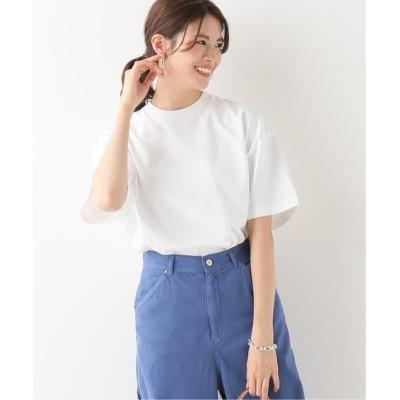 【イエナ】 SUVIN AIR SPINNING OVER Tシャツ◆ レディース ホワイト フリー IENA