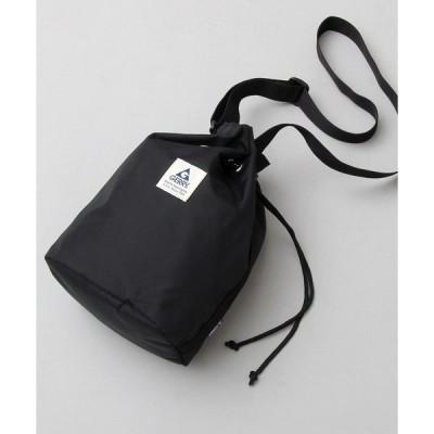 ショルダーバッグ バッグ 【 GERRY / ジェリー 】 撥水加工 / 再生ナイロン 巾着バッグ / ショルダーバッグ / MIPAN regen