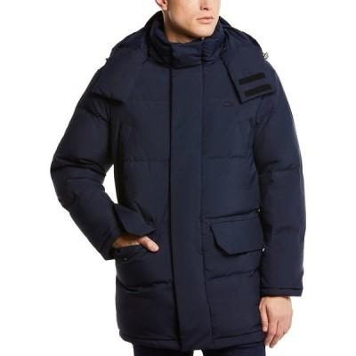 ラコステ ジャケット&ブルゾン アウター メンズ Men's Regular-Fit Quilted Down Coat with Removable Hood Abimes