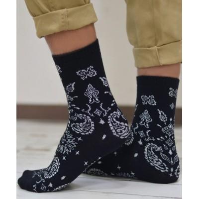 靴下 F&D : カシューフラワーソックス