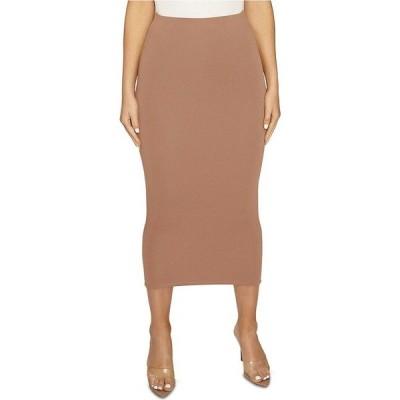 ネイキッドワードローブ Naked Wardrobe レディース ひざ丈スカート スカート The NW Bae-Sic Midi Skirt Coco