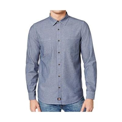 Dickies SHIRT メンズ US サイズ: Large カラー: ブルー