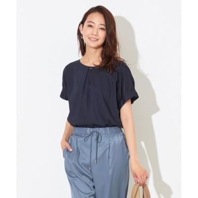 (anySiS/エニィ スィス)【洗える】バーポイントシャツ ブラウス/レディース ネイビー