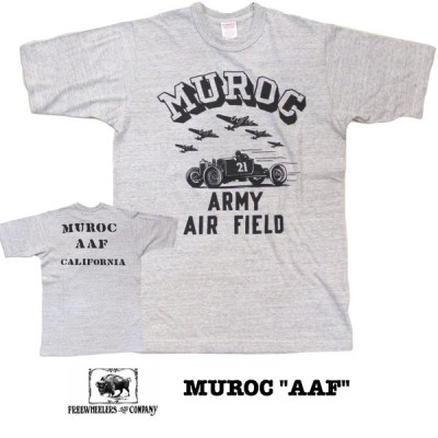 "FREEWHEELERS/フリーホイーラーズ POWER WEAR/パワーウェア MUROC ""AAF""   MIX-GRAY"