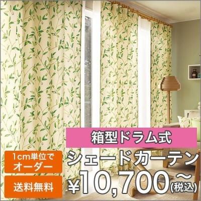 プレーンシェード シェードカーテン ローマンシェード 「AL001」 巾40-50cm 丈45-100cm 箱型ドラム式