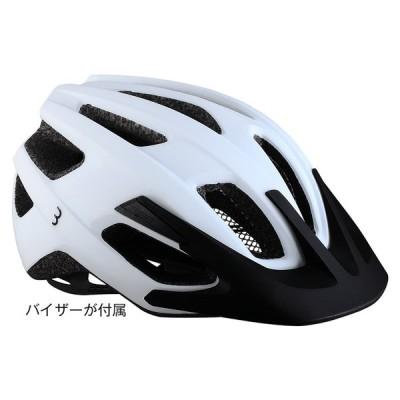 BBBヘルメット BHE-29B KITE2.0 カイト2.0 (マットホワイト)サイクルヘルメット