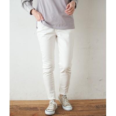 CIAOPANIC TYPY / 裾スリットフリンジデニムレギパン WOMEN パンツ > デニムパンツ