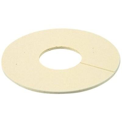 ビニールプレート アイボリー 6217-15.88(外径60x内径16mm)